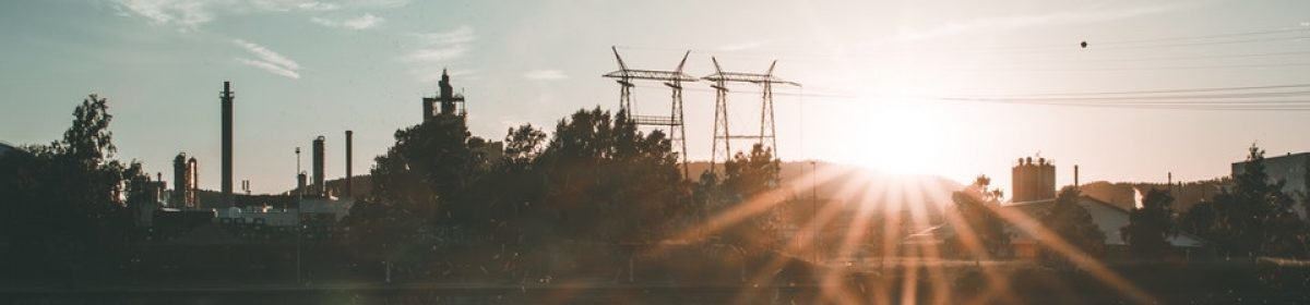 Widok na źródła energii